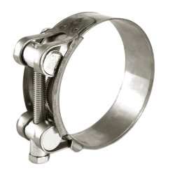 Хомут силовой 48-51 мм W2 одноболтовый