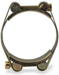 Хомут силовой 80-90 мм W1 двухболтовый
