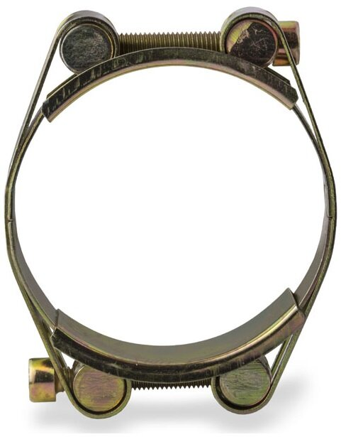 Хомут силовой 200-210 мм W1 двухболтовый